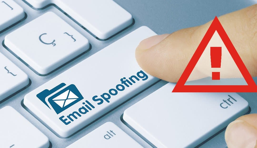 Email-spoofing Alert