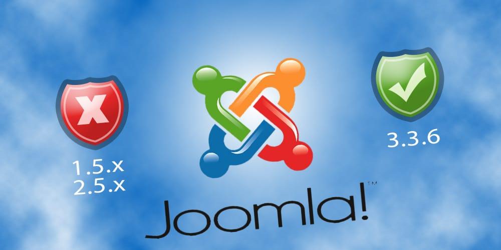 Update uw verouderde Joomla website