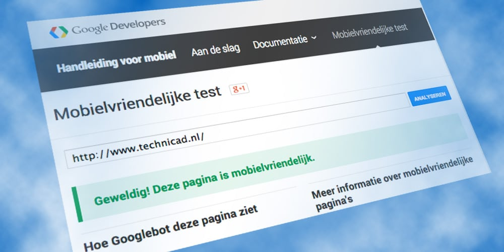 Mobilegeddon – Uw website mobiel vriendelijk?