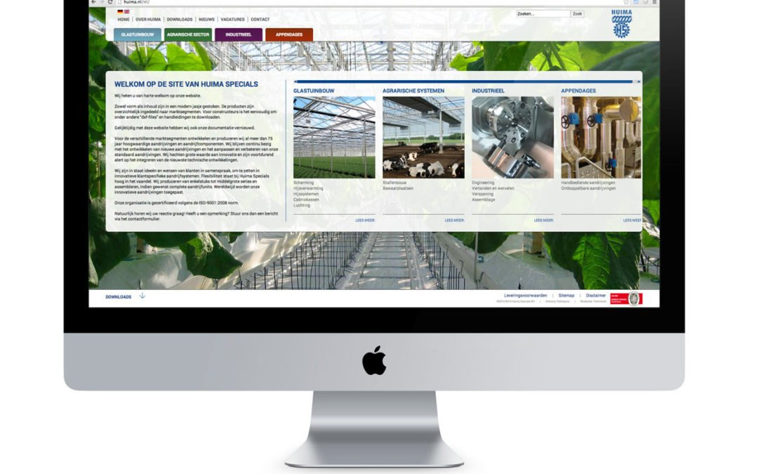 Website Huima Specials