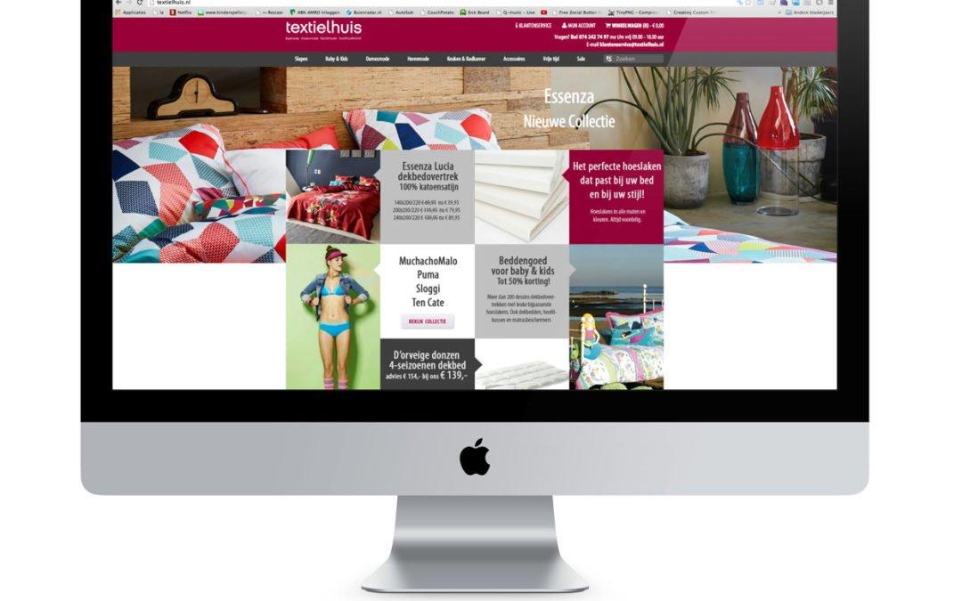 Webshop voor het Textielhuis