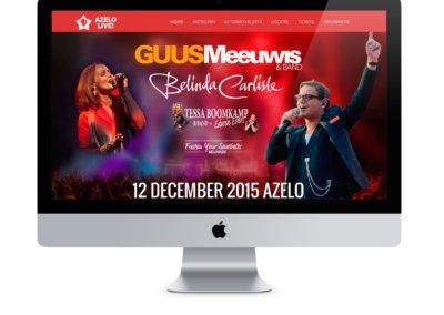 Website voor Azelo Live!