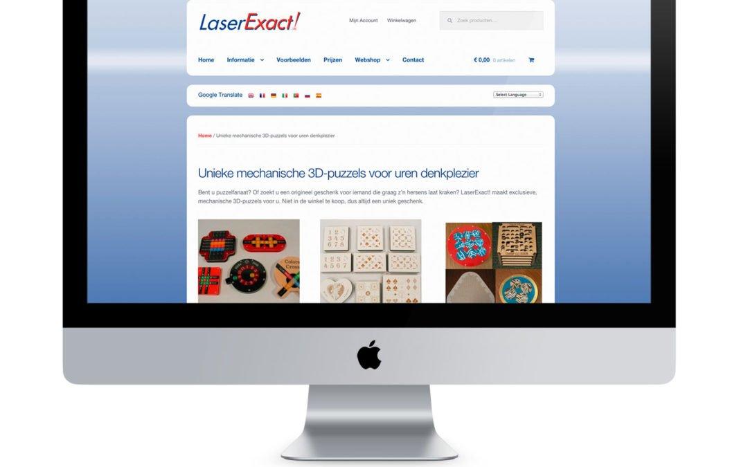 Migratie Webshop LaserExact