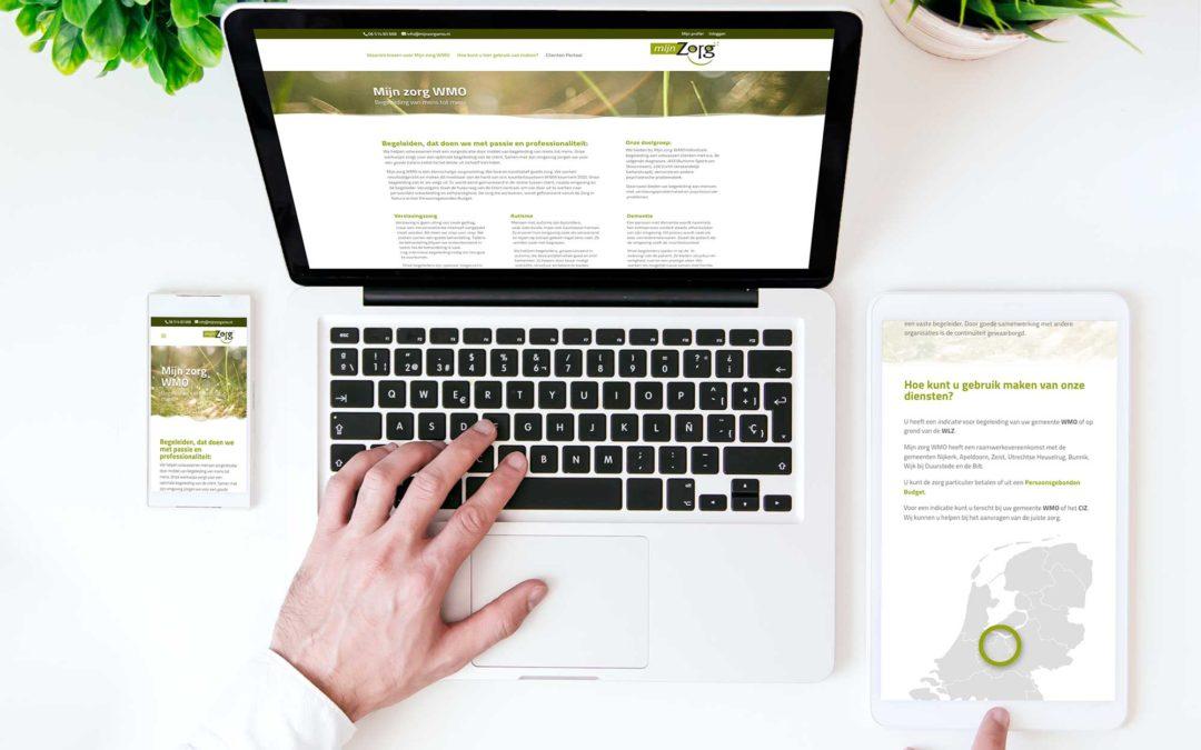 Website Mijn zorg WMO