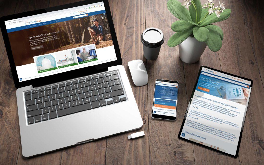 Redesign Website – Privatescan.nl