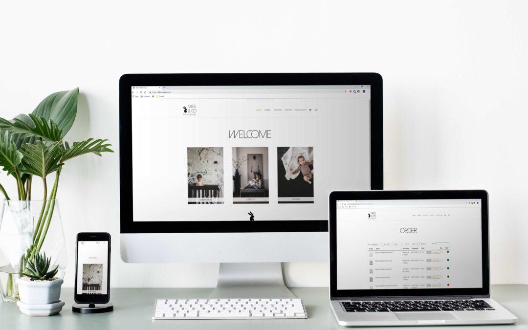 nieuwe website b2b.miesenco.nl