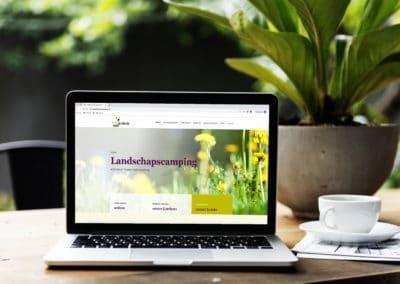 Nieuwe website Camping Onder de Sterren
