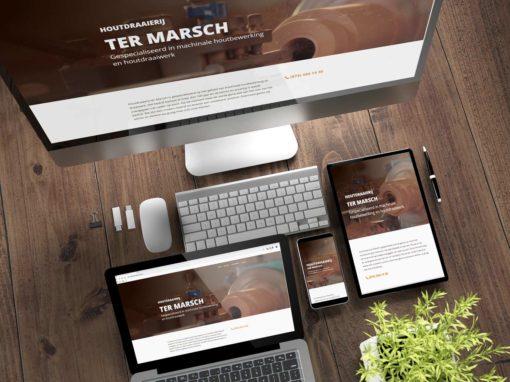 Nieuwe website Houtdraaierij Ter Marsch