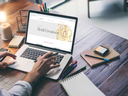 website Heidi Creations